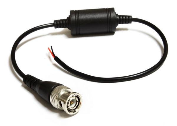 ◆将rj45网路线转换为监控bnc